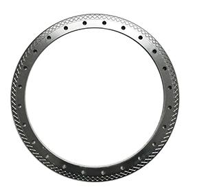 Aluminum wheel rim