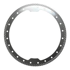 Forged welding flange