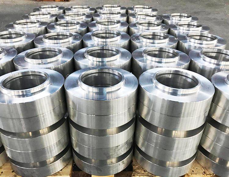 Professional processing flange